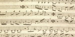 Music-composition-manuscript