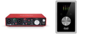 start music production equipment needed audio interface