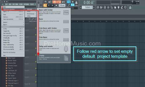 FL-Studio-12-Change-default-template