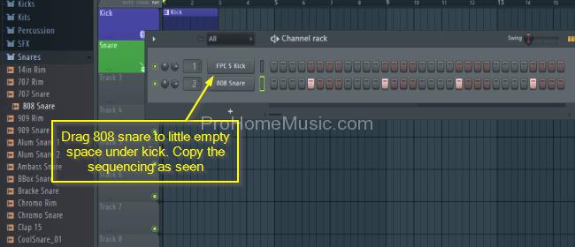 FL-Studio-12-snare-pattern-step-sequencer