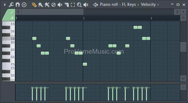 make beat with FL Studio 12 FL Keys Piano roll 2