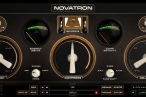 Novatron by Kush Audio compressor VST plugin