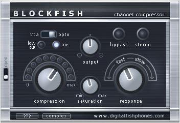 Blockfish by Digital Fishphones top best free compressor plugins