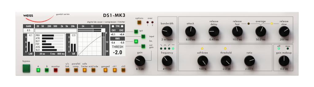 Softube Weiss DS1-MK3 Mastering Plugin VST AU