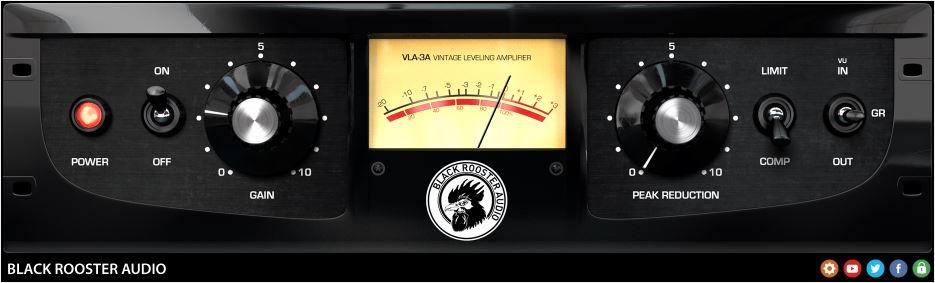 Top 10 best compressor VST plugins 2018 Black Rooster Audio VLA-3A