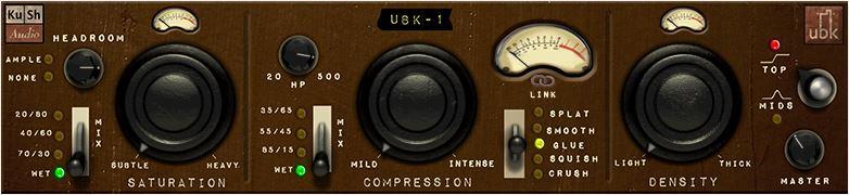 Top 10 best compressor VST plugins 2018 Kush Audio UBK-1