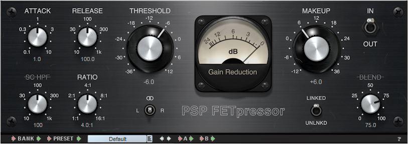 Top 10 best compressor VST plugins 2018 PSP FETpressor