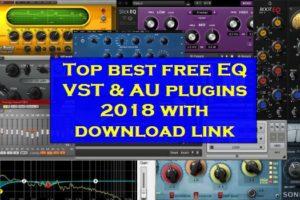 Top best free EQ plugins VST AU 2018 download