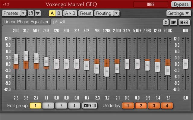 Voxengo Marvel GEQ Top best free EQ plugins VST AU download