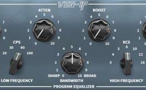 Black Rooster Audio VEQ-1P Pultec type EQ plugin