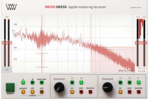 Softube Weiss Deess plugin mastering de-esser