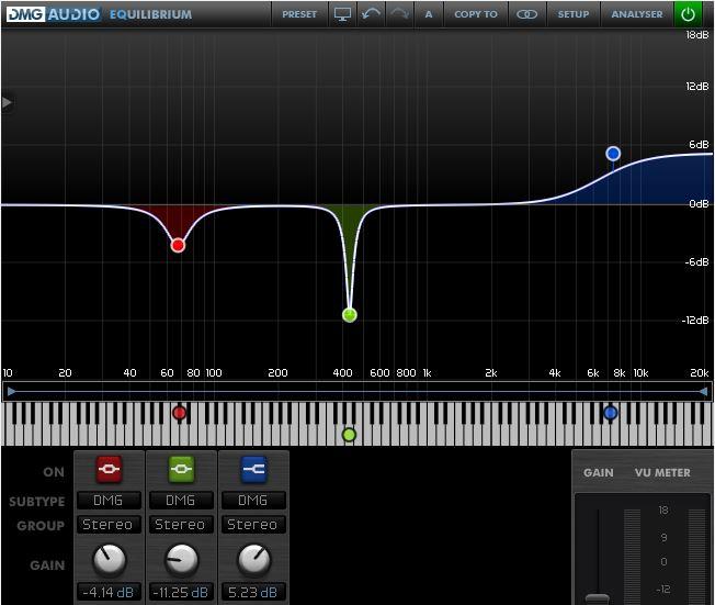 Top best EQ VST & AU plugins DMG Audio Equilibrum