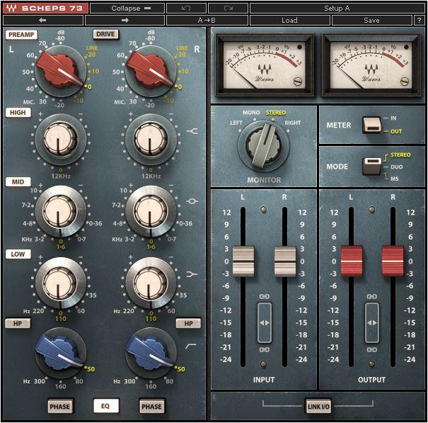 Top best EQ VST & AU plugins Waves Scheps 73