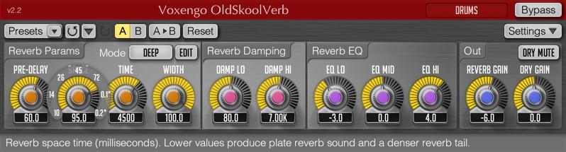 top best free reverb vst plugins oldskoolverb