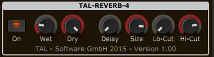 top best free reverb vst plugins tal-reverb-4