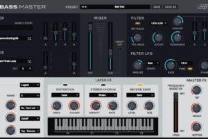Loopmasters Bass Master, a bass dedicated VSTi plugin