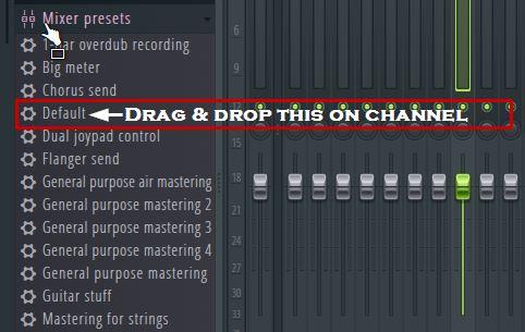 how to delete mixer track in fl studio 20