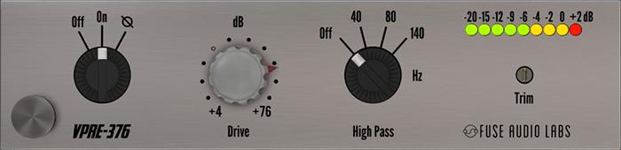 Fuse Audio Labs VPRE-376 Vintage Preamp plugin